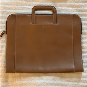 Coach Leather Womens Briefcase w/ dust bag